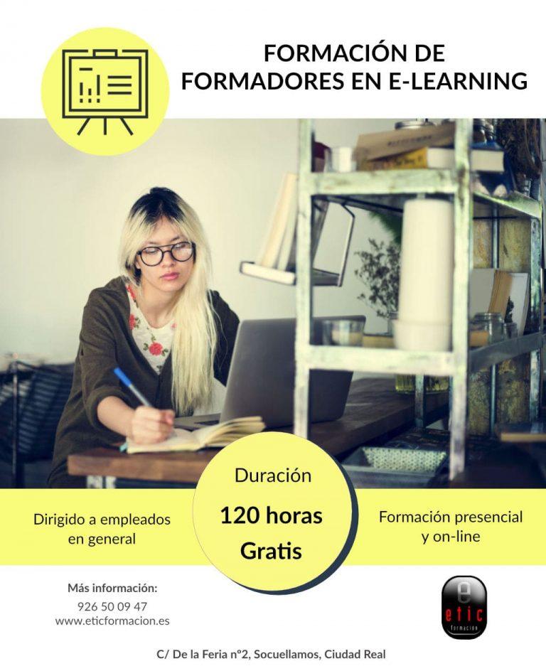 Curso formación de formador en e-learning