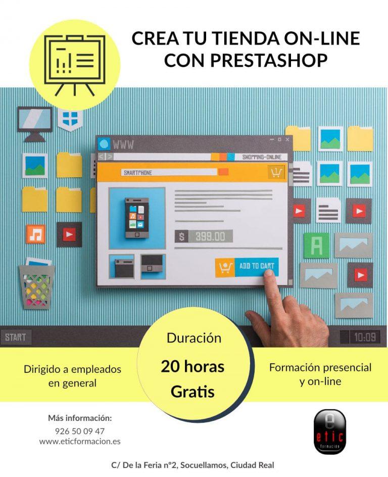 Crea una Tienda Online con Prestashop
