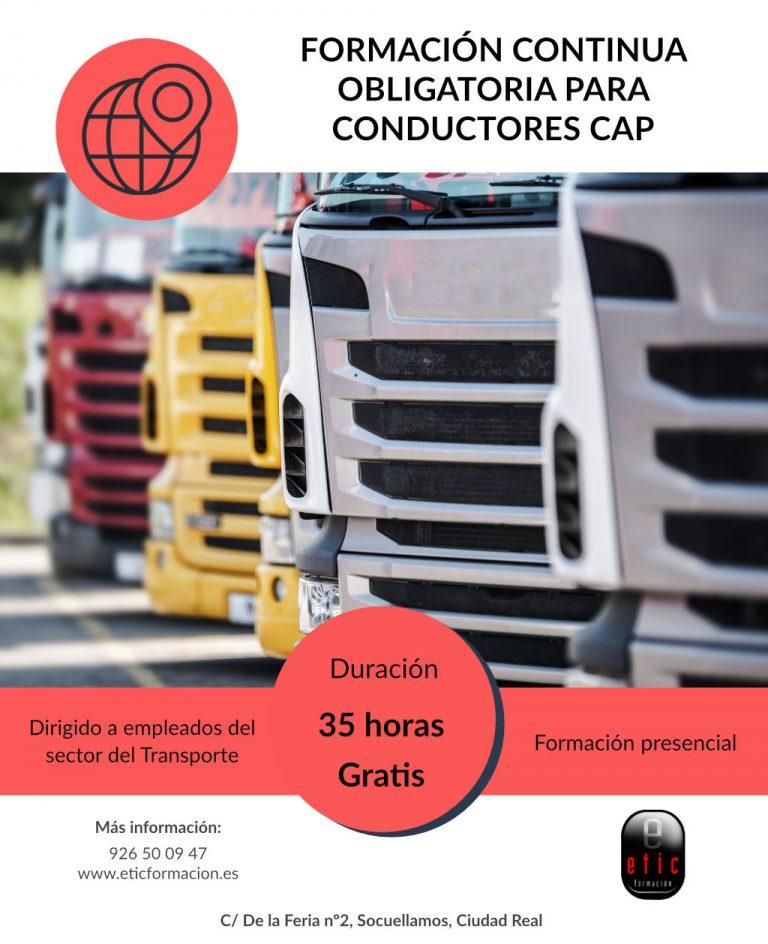 Formación Continua Obligatoria para Conductores CAP