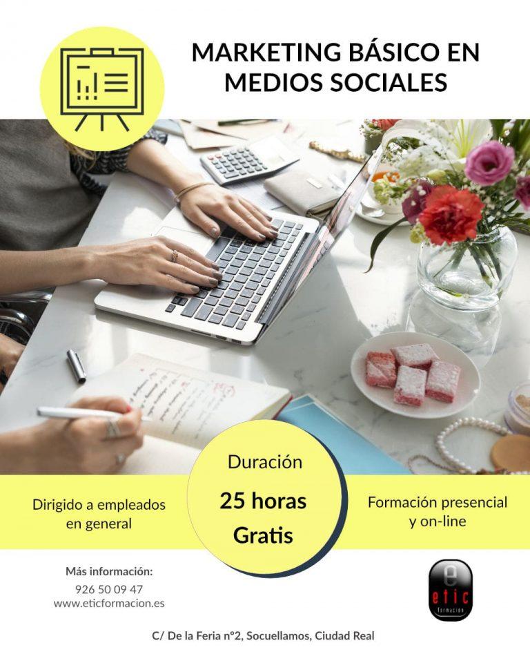 Marketing Básico en Medios Sociales