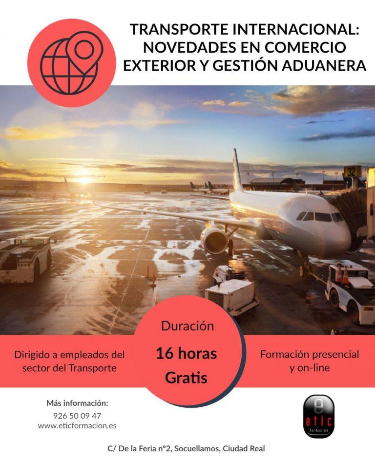Curso de Transporte Internacional: Novedades en comercio exterior y gestión aduanera