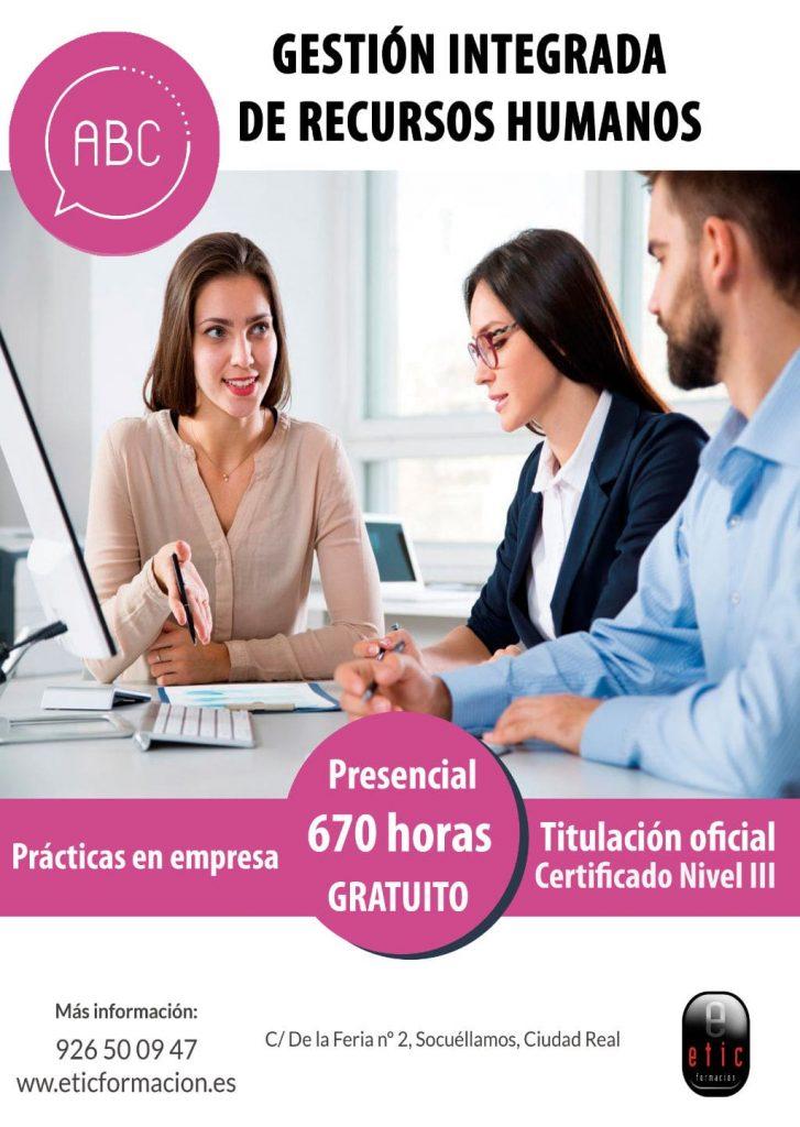 Certificado Gestión Integrada de Recursos Humanos