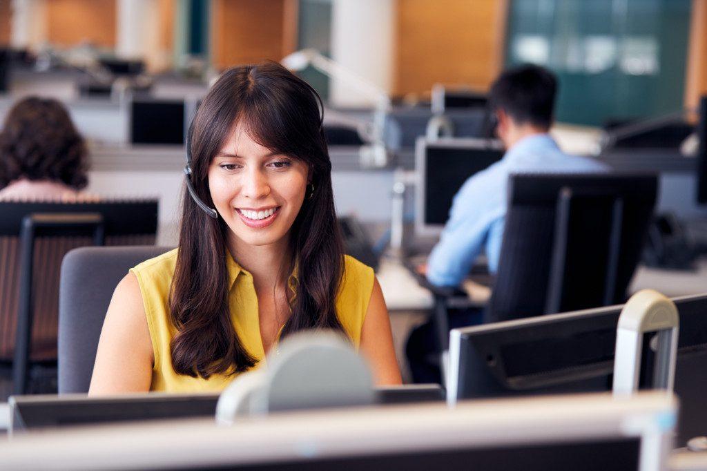 Actividades administrativas en relación con el cliente
